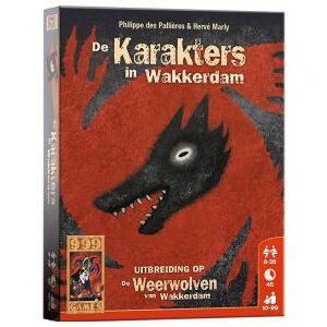 999-GAMES De Weerwolven van Wakkerdam: Karakters
