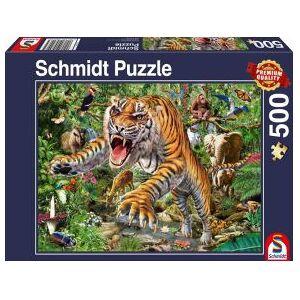 Schmidt Spiele Tiger attack. 500 pcs