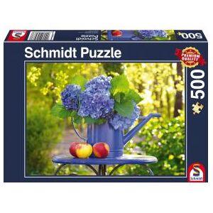 Schmidt Spiele Gieter met hortensia. 1000 pcs