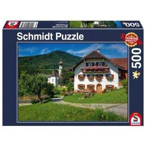 Schmidt Spiele Vakantie in Klooster H+glw+rth. Oberbayern. 500 pcs