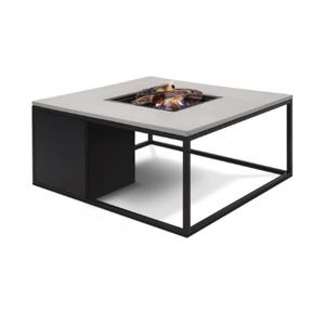 Van Kooten Tuin en Buitenleven Cosiloft 100 vuurtafel zwart/grijs 100x100x47cm