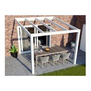 Van Kooten Tuin en Buitenleven Greenline veranda 400x250 cm - glasdak