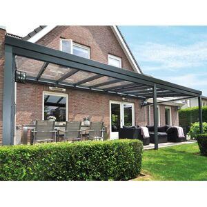 Van Kooten Tuin en Buitenleven Profiline XXL veranda 900x350 cm - glasdak