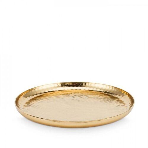 Vtwonen Plate metal gold 22 cm