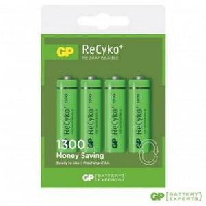 GP Oplaadbare Batterijen 4-pack Recyko+ AA 1300mah