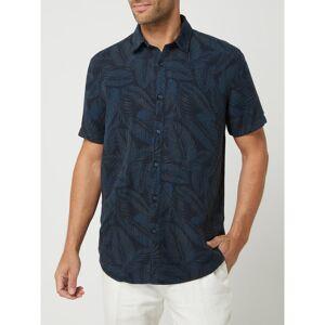 Esprit Regular fit linnen overhemd  - blue