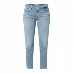 7 For All Mankind Ankle cut jeans met stretch, model 'Roxanne'  - blue