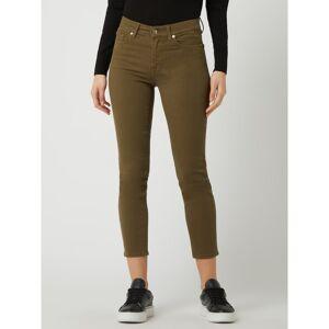 7 For All Mankind Jeans met smalle pasvorm en stretch, model 'Roxanne'  - green
