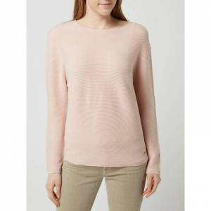 BETTY & CO WHITE Pullover met ribstructuur  - pink