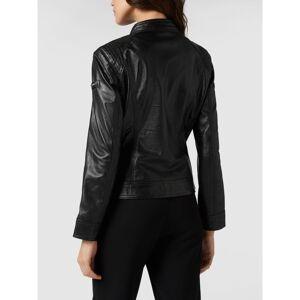 Cabrini Leren jas in bikerlook  - black