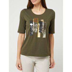 Gerry Weber T-shirt met pailletten  - green