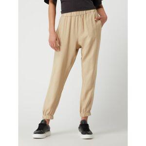 Karo Kauer Easy pants van modalmix, model 'Mercy'  - beige