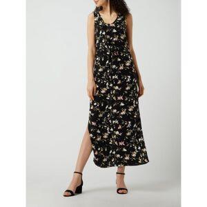 Vero Moda Maxi-jurk met dierenprint, model 'Simply Easy'  - black