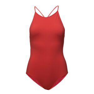 FILIPPA K SOFT SPORT Tie-Back Swimsuit Badpak Badkleding Rood FILIPPA K SOFT SPORT