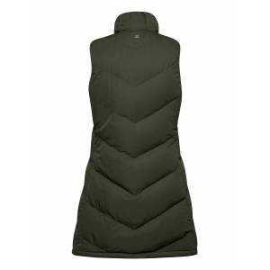 Daily Sports Isabel Padded Vest Vests Padded Vests Groen DAILY SPORTS