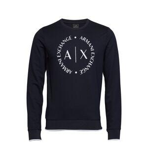 Armani Exchange Man Jersey Sweatshirt Sweat-shirt Trui Blauw ARMANI EXCHANGE