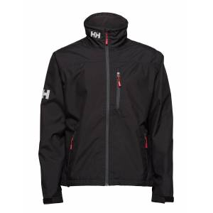 Helly Hansen Crew Jacket Outerwear Sport Jackets Light Jackets Zwart HELLY HANSEN
