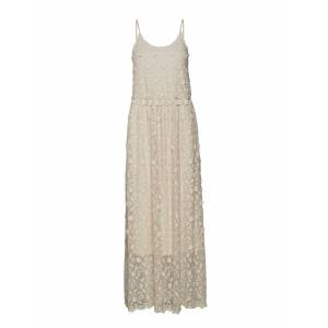 Vero Moda Vmrapunzel S/L Maxi Dress Eid18 Maxi Dress Galajurk Crème VERO MODA