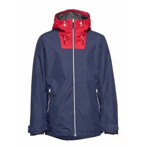 WEARCOLOUR Block Jacket Outerwear Sport Jackets Blauw WEARCOLOUR