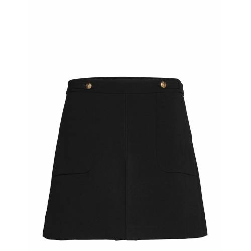 BANANA REPUBLIC Utility Mini Skirt Korte Rok Zwart BANANA REPUBLIC