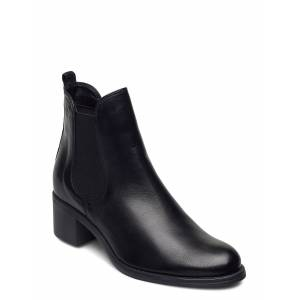 tamaris Woms Boots Shoes Boots Ankle Boots Ankle Boots With Heel Zwart TAMARIS