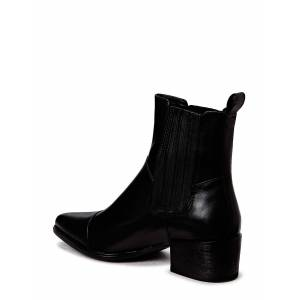 Vagabond Marja Shoes Boots Ankle Boots Ankle Boot - Heel Zwart VAGABOND