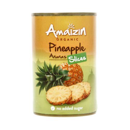 Amaizin Ananasschijven op sap bio
