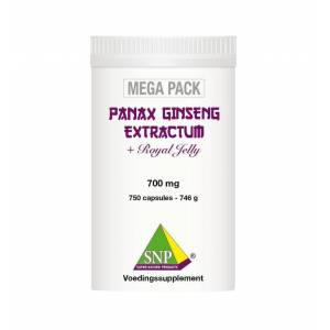 SNP Panax ginseng extract megapack 750 capsules