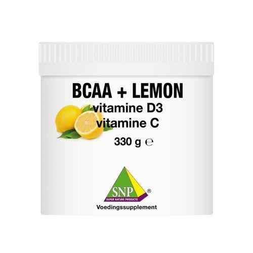SNP BCAA lemon Vit D3 Vit C