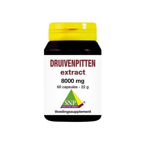 SNP Druivenpitten zaad extract 8000 mg 60 capsules
