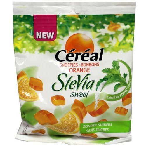 Céréal Cereal sinaasappel snoepjes met Stevia