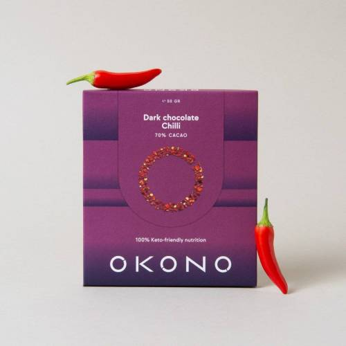 Okono Dark Chocolate Chili