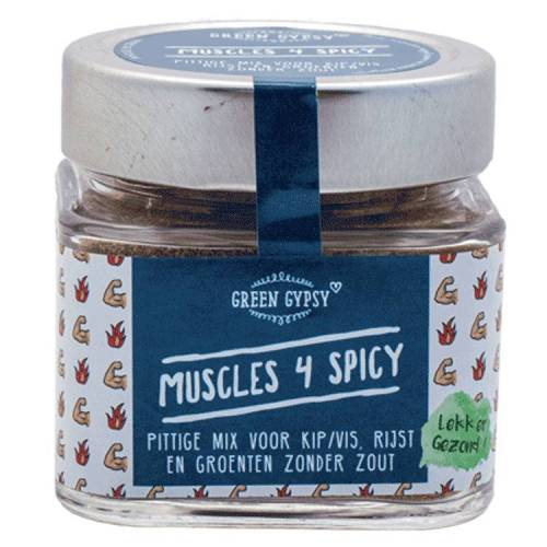 Green Gypsy Spices Muscles 4 Spicy, Green Gypsy Spices