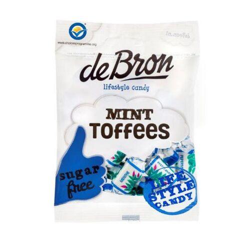 De Bron Suikervrije Mint Toffees