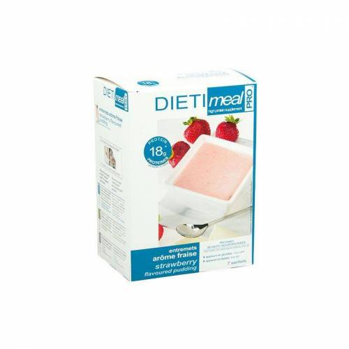 DietiMeal Shake / Dessert Aardbeien