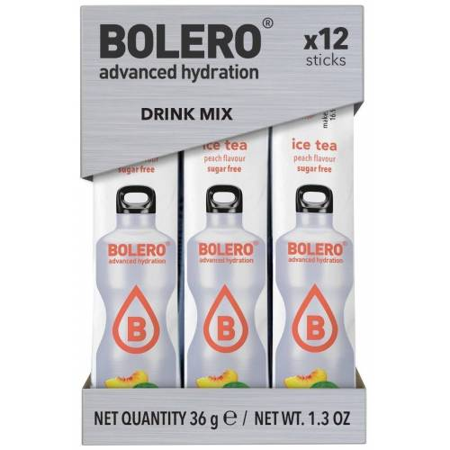 Bolero Sticks Ice Tea Peach (12 sticks)