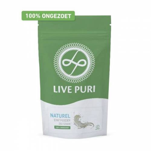 Live Puri Naturel Ongezoet Eiwitpoeder
