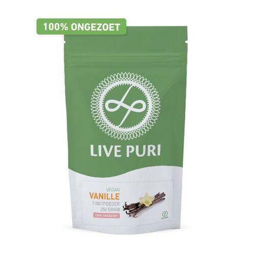 Live Puri Vegan Vanille Ongezoet Eiwitpoeder