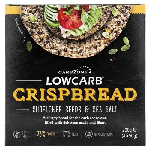 CarbZone Low Carb Crispbread (Deze zijn gebroken, daarom goedkoper)
