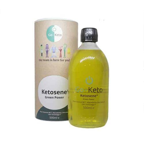 Go-Keto Go Keto Ketosene MCT olie C8 C10 - Green Power
