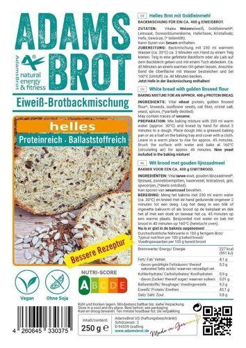 Adam's Brot Broodmix Wit 3.0 (Vernieuwd!)