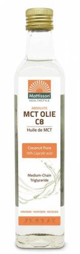 Mattisson MCT olie C8 - coconut ...