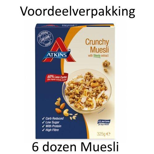 Atkins Crunchy Muesli Doos (6 verpakkingen)