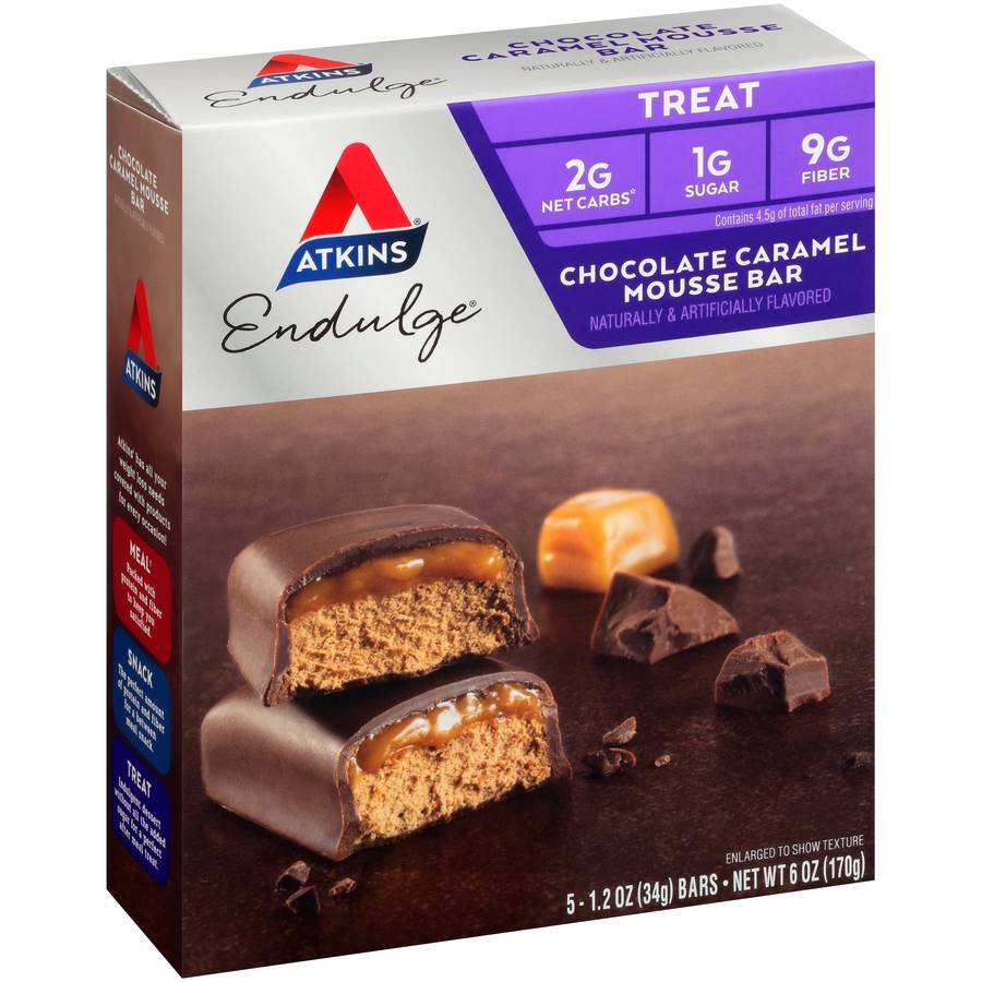 Atkins USA Chocolate Caramel Mou...