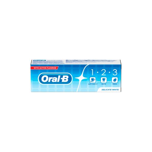Oral B Oral B Tandpasta 123 75 ml