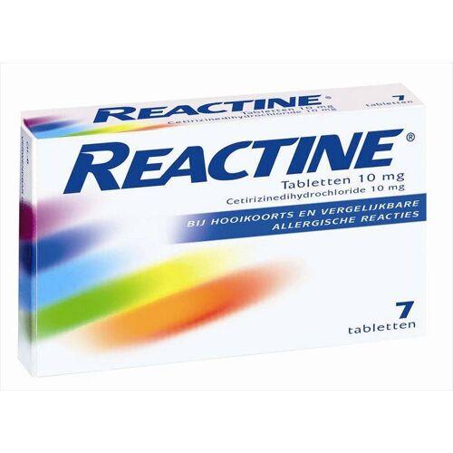 Reactine Reactine allergie tabletten 10 Mg - 7 Tabletten