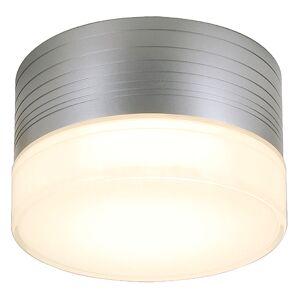 SLV Plafondlamp MICRO FLAT zilvergrijs/glas gesatineerd 1xGX53