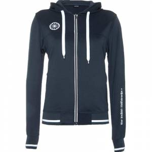 The Indian Maharadja Trainingsjack Womens Tech Hooded Donkerblauw