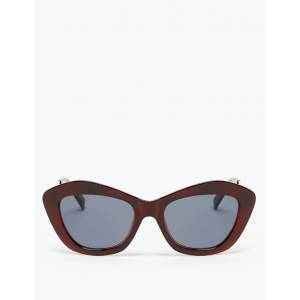 Marks & Spencer Ovale zonnebril Burgundy One Size