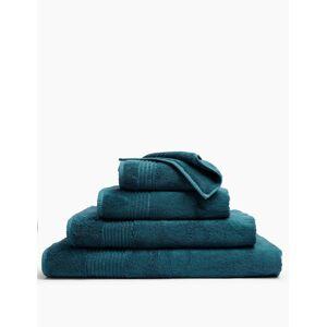 Marks & Spencer Luxe handdoek van Egyptisch katoen Dark Green Washandje
